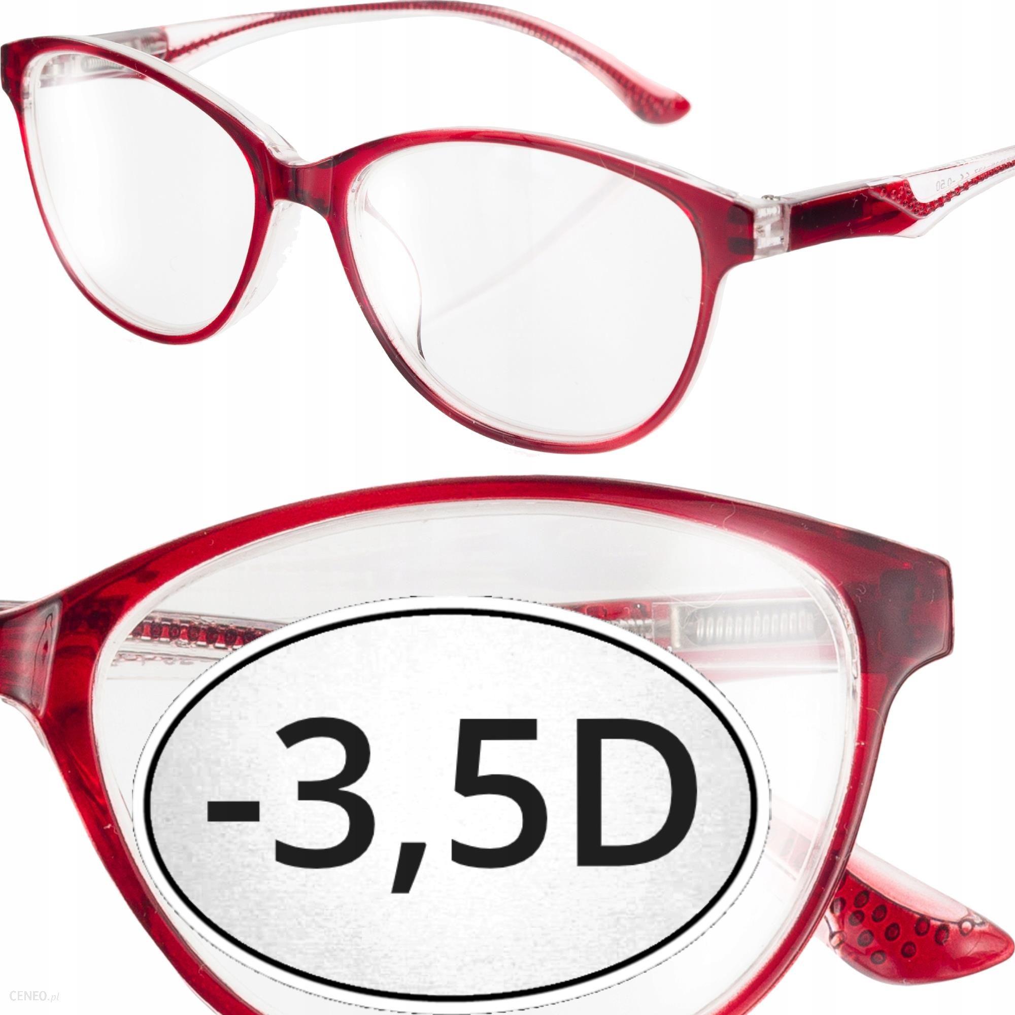 Okulary Flex Korekcyjne Minusy Czerwone 3 5 Opinie I Ceny Na Ceneo Pl