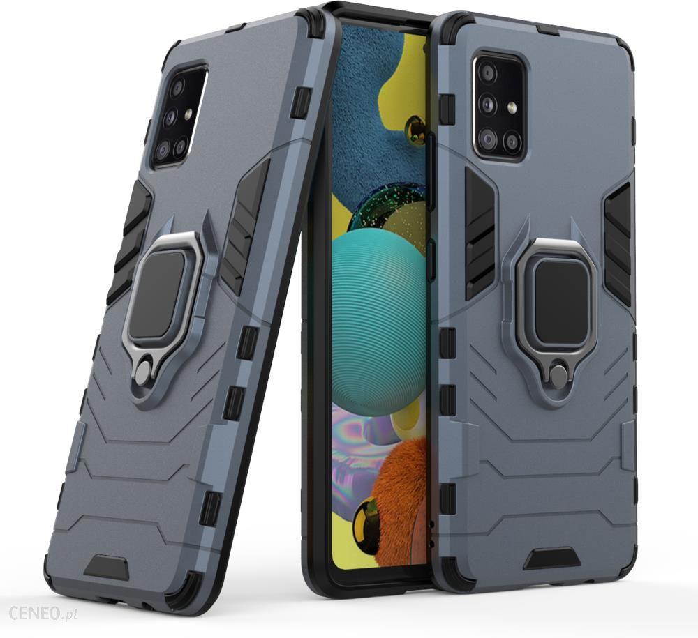 Hurtel Ring Armor Pancerne Hybrydowe Etui Magnetyczny Uchwyt Samsung Galaxy A51 5g Niebieski Etui Na Telefon Ceny I Opinie Ceneo Pl