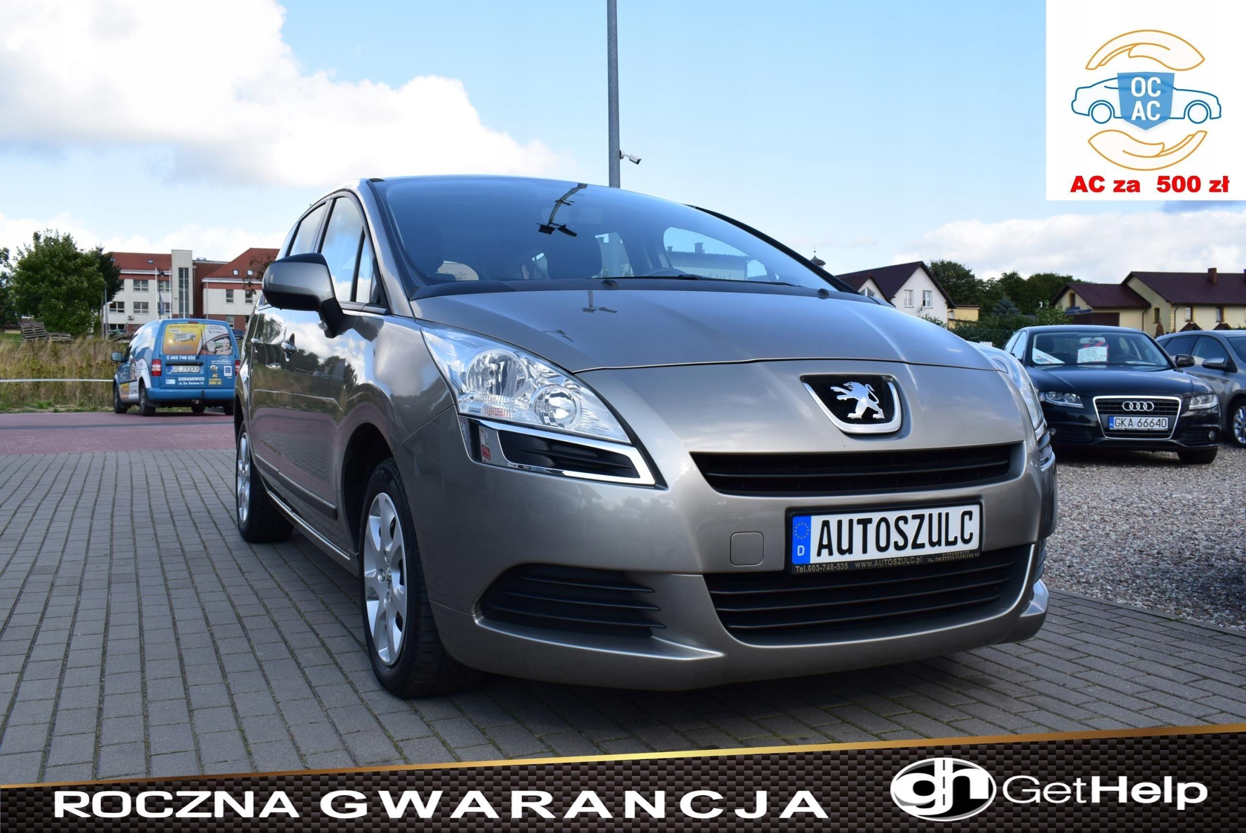 Peugeot 5008 1 6 Benzyna 7 Osobowy Rodzinny Opinie I Ceny Na Ceneo Pl
