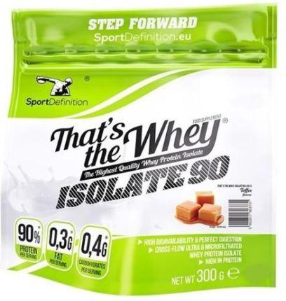 Odzywka Bialkowa Sport Definition Thats The Whey Isolate 300g Ceny I Opinie Ceneo Pl