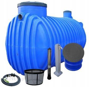 Zbiornik Na Wode Deszczowa System Ogrodowy P 4000l Ceny I Opinie Ceneo Pl