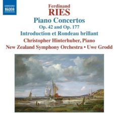 Hinterhuber Christopher & New Zealand Symphony Orchestra: Ries - Piano Concertos Op 42 And Op 177 [CD]