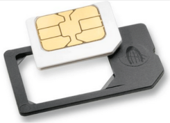 ADAPTER Z KARTY MICROSIM NA SIM