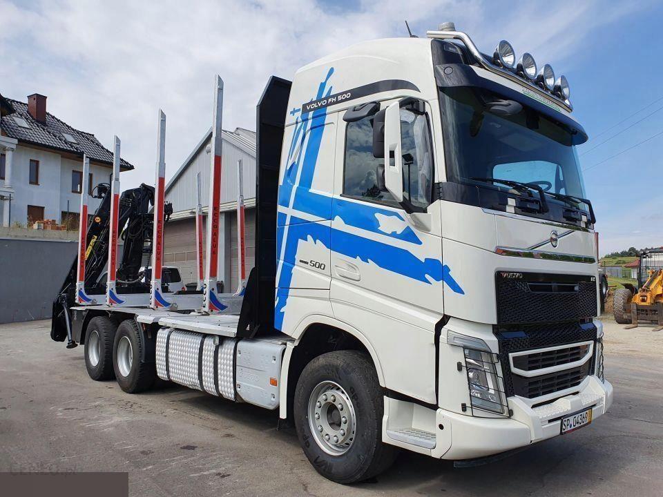 Volvo Fh 4 500 6x4 Euro 6 Do Drewna Lasu Klody Opinie I Ceny Na Ceneo Pl