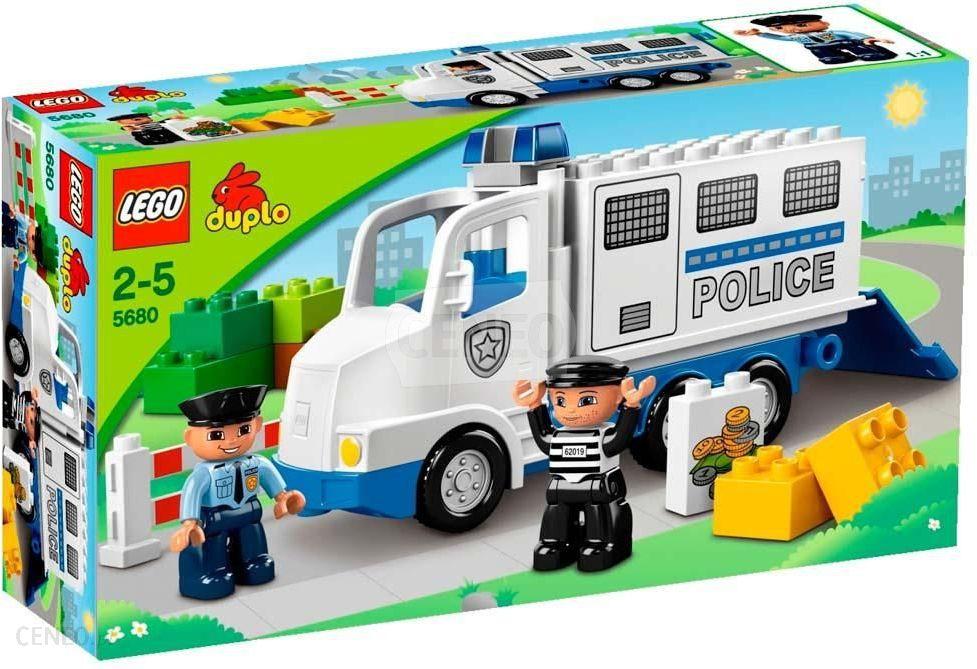 Klocki Lego Duplo Ciężarówka Policyjna 5680 Ceny I Opinie Ceneopl