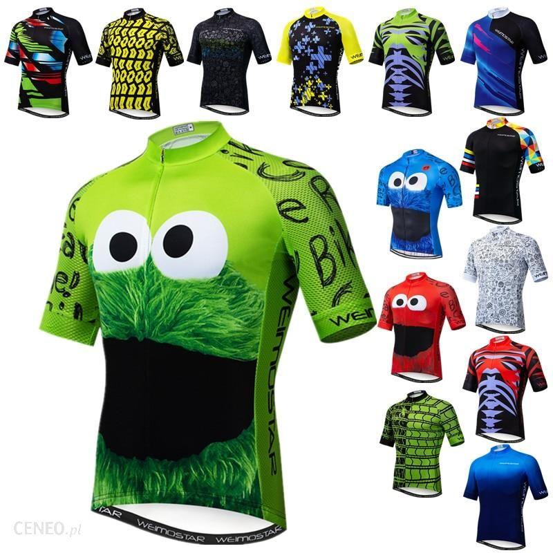 Aliexpress Weimostar Top Zielona Koszulka Kolarska śmieszne Męskie Ciasteczka Rowerowa Odzież Maillot Ceneo Pl