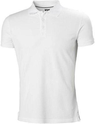 Helly Hansen Koszulka Męska Polo Crew White 34004001 - Ceny i opinie T-shirty i koszulki męskie RDJW