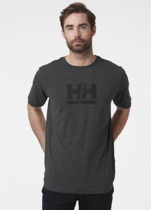 Męska koszulka Helly Hansen LOGO T SHIRT navy - Ceny i opinie T-shirty i koszulki męskie WVMT