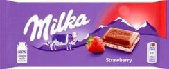 Milka Czekolada Strawberry Yoghurt 100G