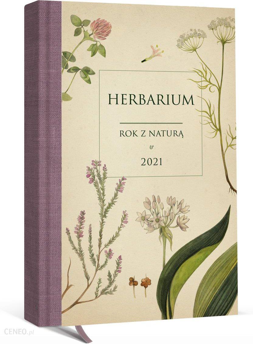 Kalendarz Ksiazkowy 2021 A5 Rok Z Natura Herbarium Ceny I Opinie Ceneo Pl