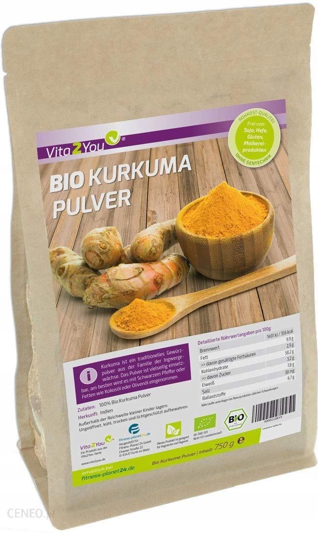 Bio Organiczna Kurkuma W Proszku 100 750g Ceny I Opinie Ceneo Pl