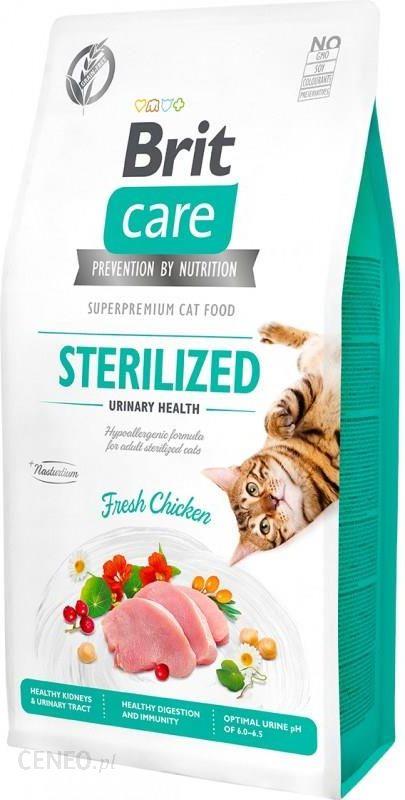 Brit Care Cat Grain-Free Sterilized Urinary Health 7Kg