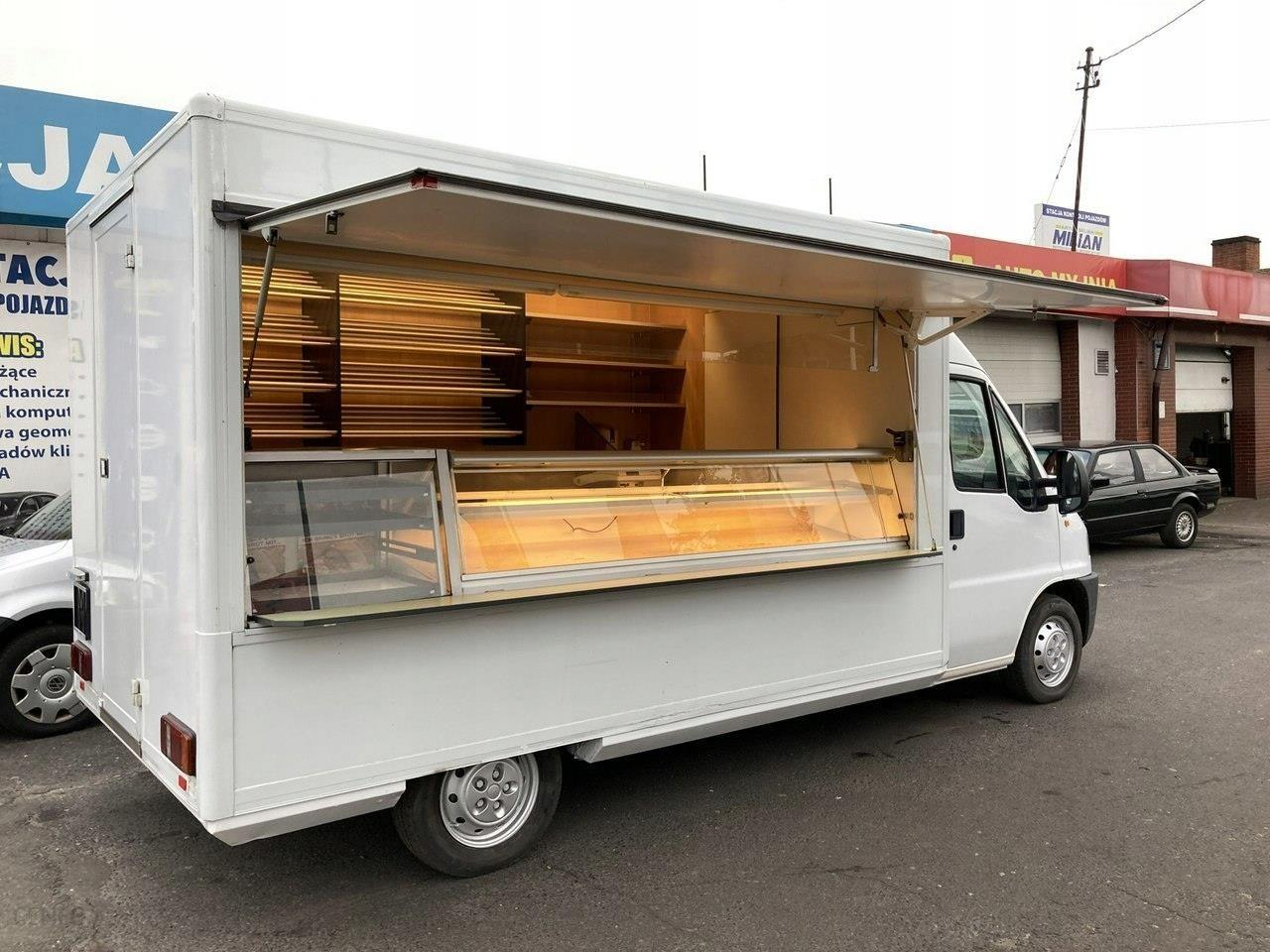 Ducato Autosklep Food Truck Foodtruck Gastronomicz Opinie I Ceny Na Ceneo Pl