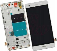 Podzespoly Do Telefonu Wyswietlacz Lcd Huawei Ascend P8 Lite Ramka Bialy Opinie I Ceny Na Ceneo Pl