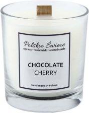 Polskie Swiece Swieca Sojowa Z Drewnianym Knotem Chocolate Cherry 190 G Opinie I Atrakcyjne Ceny Na Ceneo Pl
