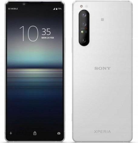 Sony Xperia 1 Ii 8 256gb Bialy Cena Opinie Na Ceneo Pl