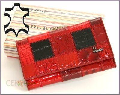 42acd617cf8b1 dr Koffer - luksusowy portfel damski - naturalna cielęca skóra -  (55020A-338A)
