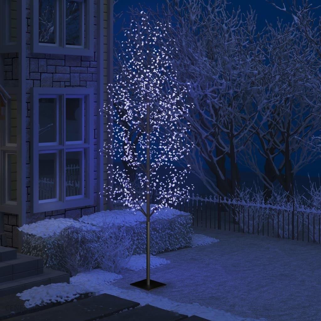 Vidaxl Drzewko Swiecace Na Niebiesko 1200 Led Kwiat Wisni 400 Cm Opinie I Atrakcyjne Ceny Na Ceneo Pl