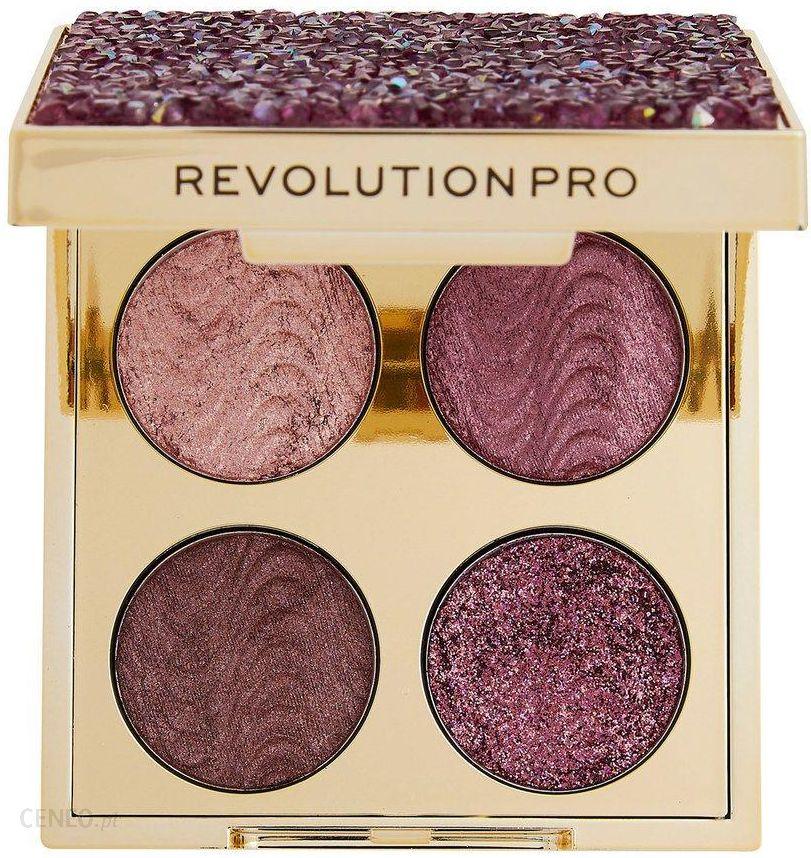 Revolution Pro Crystal Eye Quad Paleta Cieni Pink Topaz