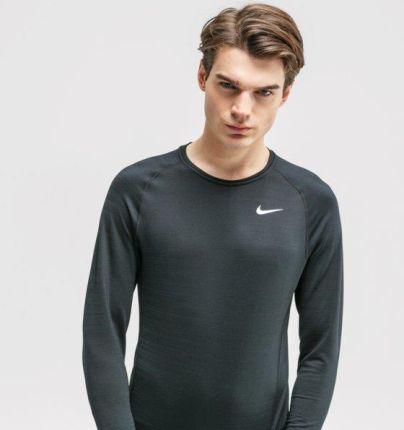 NIKE T SHIRT LS PRO - Ceny i opinie T-shirty i koszulki męskie GNYB
