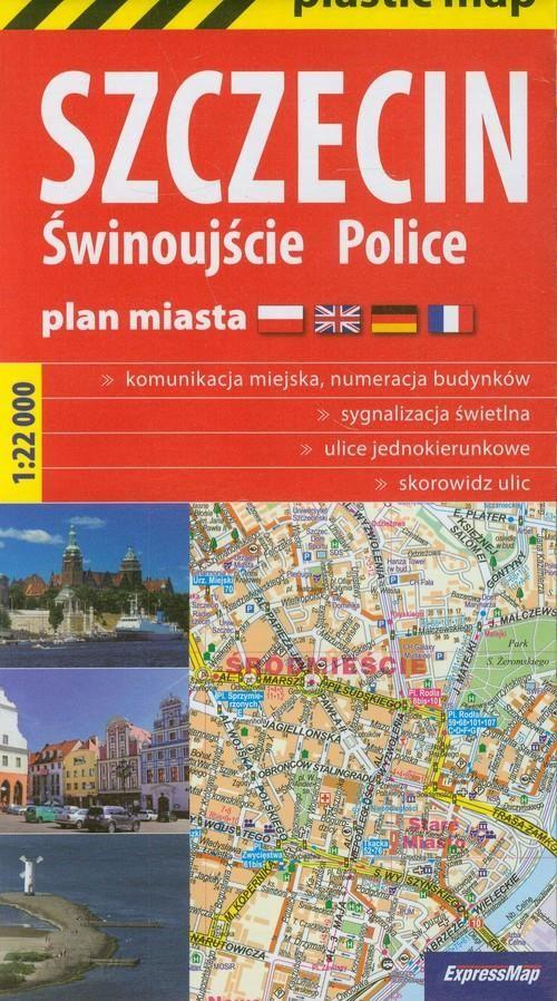 Szczecin Police Swinoujscie Mapa Foliowana 1 22 000 Expressmap