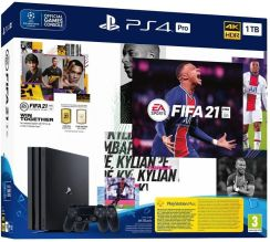 Sony PlayStation 4 Pro 1 TB + FIFA 21 + 2× DualShock 4 (PS719835226)