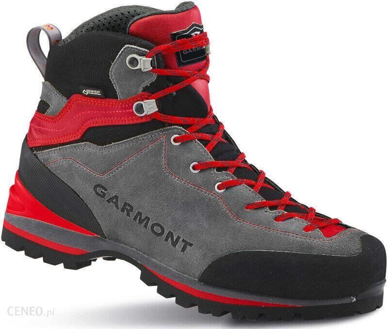 Buty Trekkingowe Garmont Ascent Gtx Grey Red Ceny I Opinie Ceneo Pl