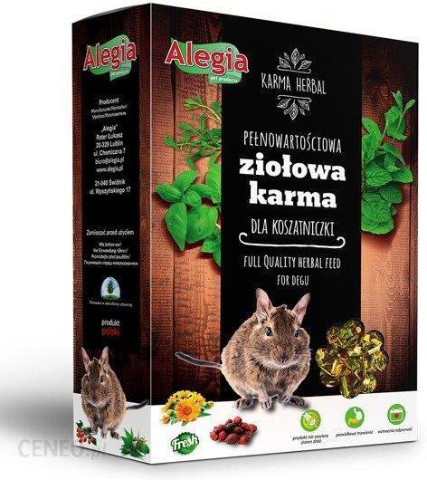 Alegia Herbal Ziołowa Karma Dla Koszatniczki 300 G