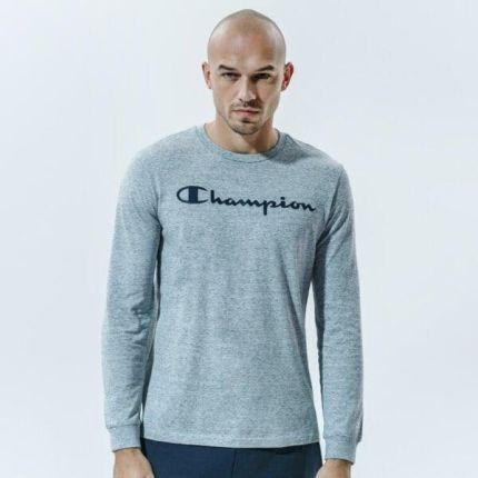 CHAMPION T SHIRT CREWNECK LONG SLEEVE T SHIRT - Ceny i opinie T-shirty i koszulki męskie OOHR