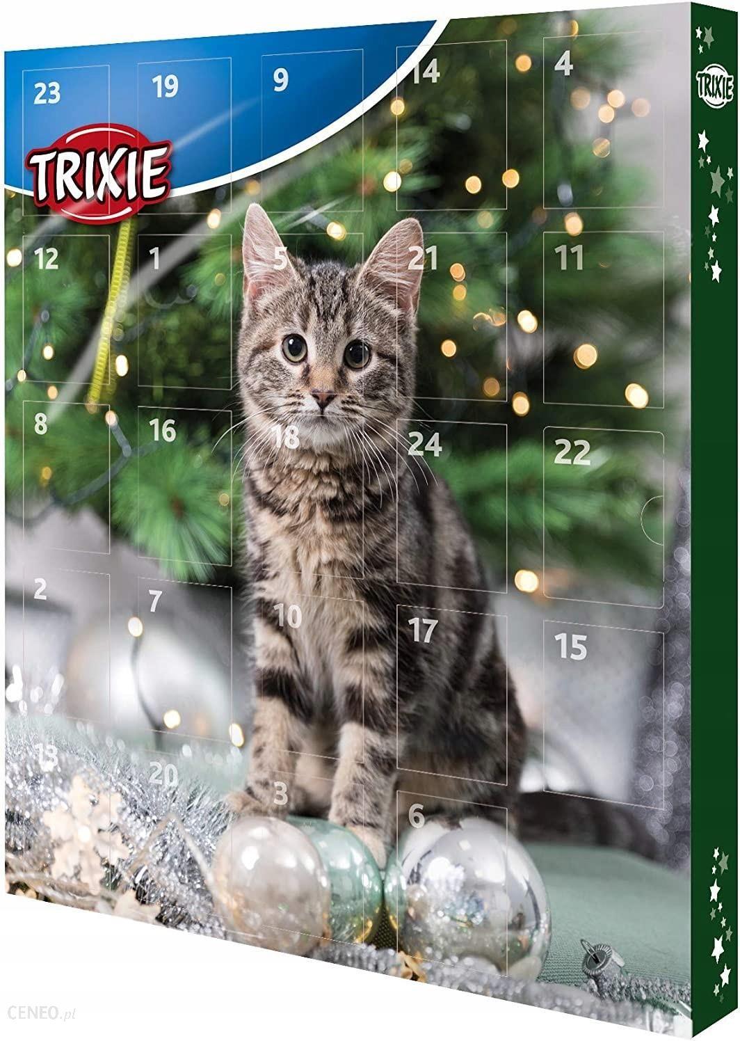Karma Trixie Kalendarz Adwentowy Dla Kota Swiateczne Przysmaki Ceny I Opinie Ceneo Pl