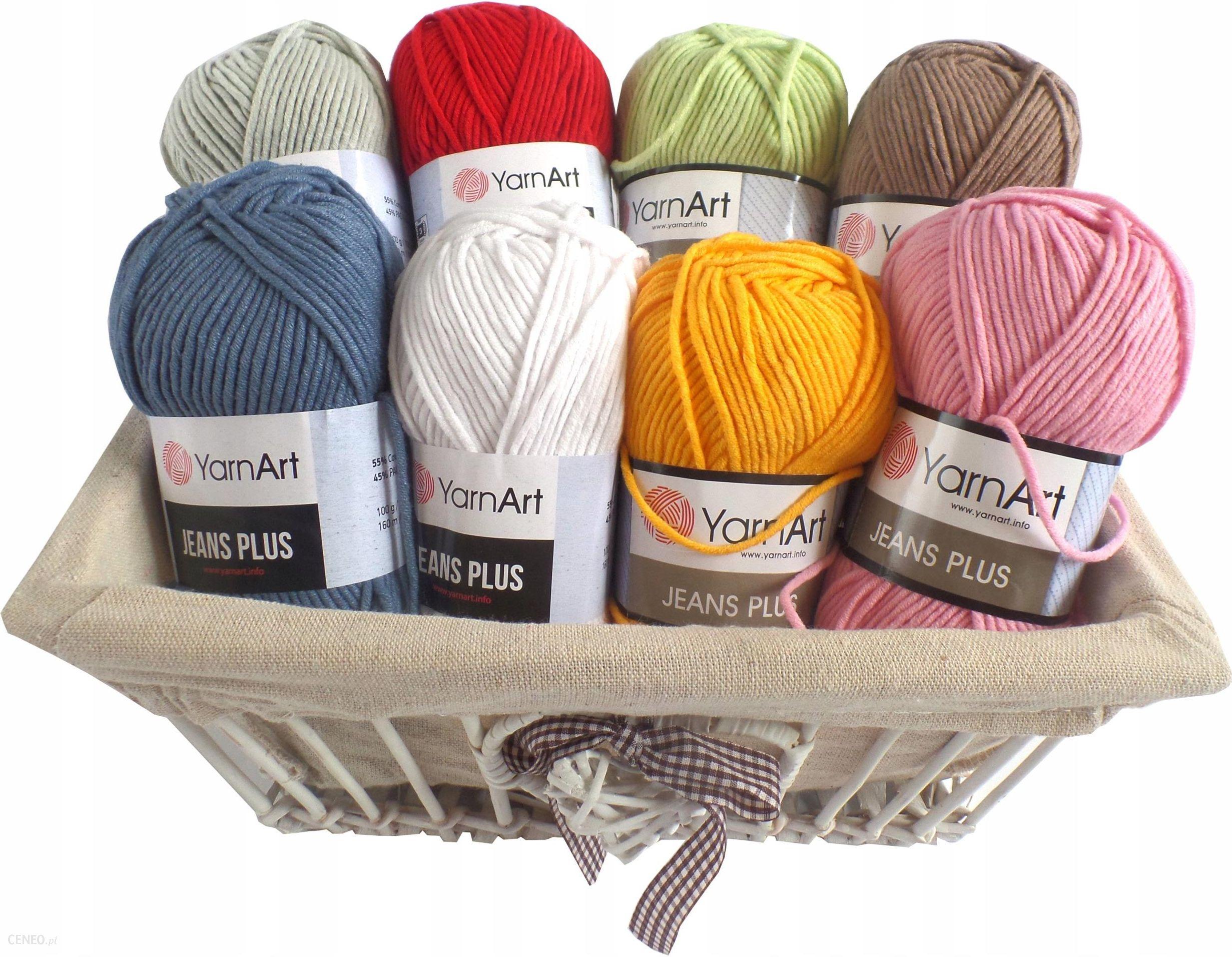 Yarn Art Wloczka Jeans Plus 85 Pomaranczowy Ceny I Opinie Ceneo Pl