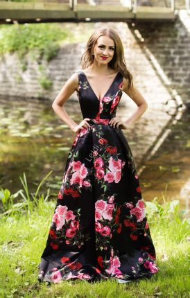 منقط نشر إنشاء Dluga Suknia W Kwiaty Na Wese E Kwiatowe Suknie Wieczorowe Psidiagnosticins Com