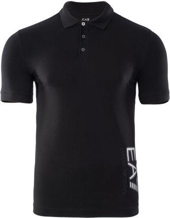 MĘSKA KOSZULKA TRAIN VISIBILITY M POLO ST 6HPF16PJ03Z0200 EA7 - Ceny i opinie T-shirty i koszulki męskie VIIU