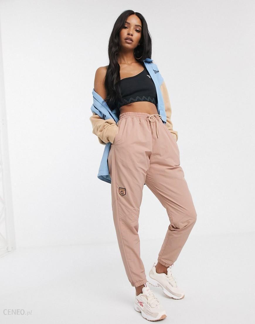 Reebok x Gigi – Spodnie dresowe ze wstawkami-Beżowy
