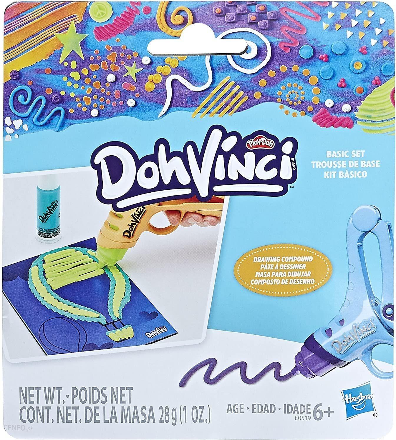 Hasbro Doh Vinci Zestaw Startowy E0519 Ceny I Opinie Ceneo Pl