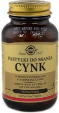 SOLGAR CYNK, 50 pastylek do ssania