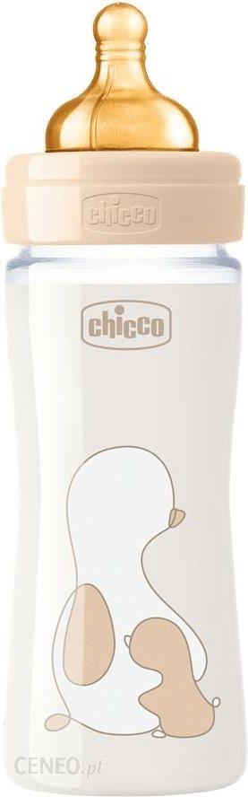 Chicco Butelka Dla Niemowląt Szklana Touch Lateks 240Ml