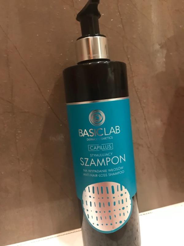 basiclab capillus stymulujący szampon przeciw wypadaniu włosów opinie