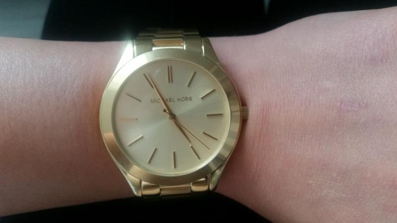 zegarek michael kors runway gold złoty mk317