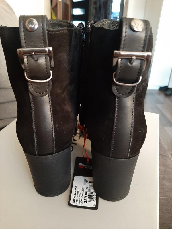 Wojas Botki 9584 61 Black