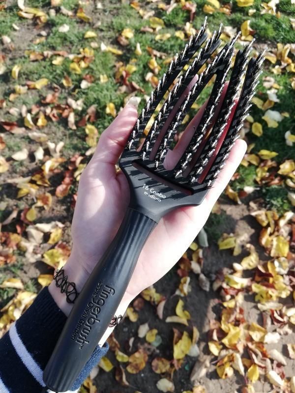 Szczotka Olivia Garden Finger Brush Szczotka Medium Opinie I Ceny Na Ceneo Pl