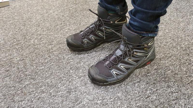 Buty trekkingowe BUTY SALOMON X ULTRA 3 MID GTX® Black