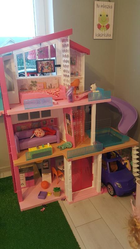 Barbie Dreamhouse Idealny Domek Dla Lalek Swiatla I Dzwieki Fhy73 Ceny I Opinie Ceneo Pl