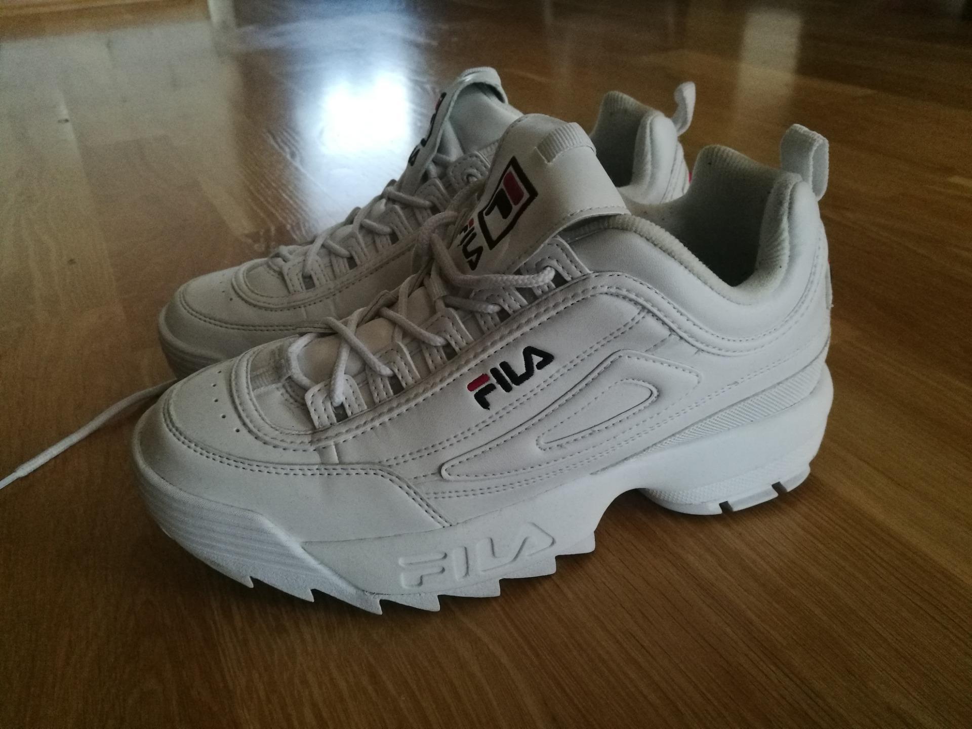 Sneakersy FILA Disruptor Wmn Low 1010302.1FG White
