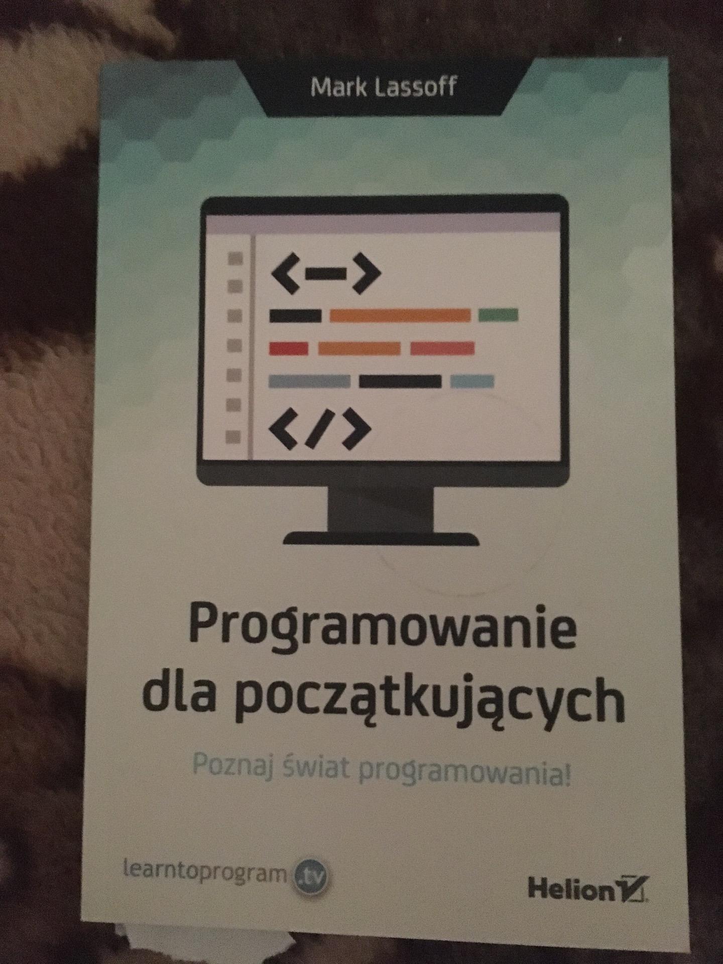 Programowanie Dla Poczatkujacych Mark A Lassoff