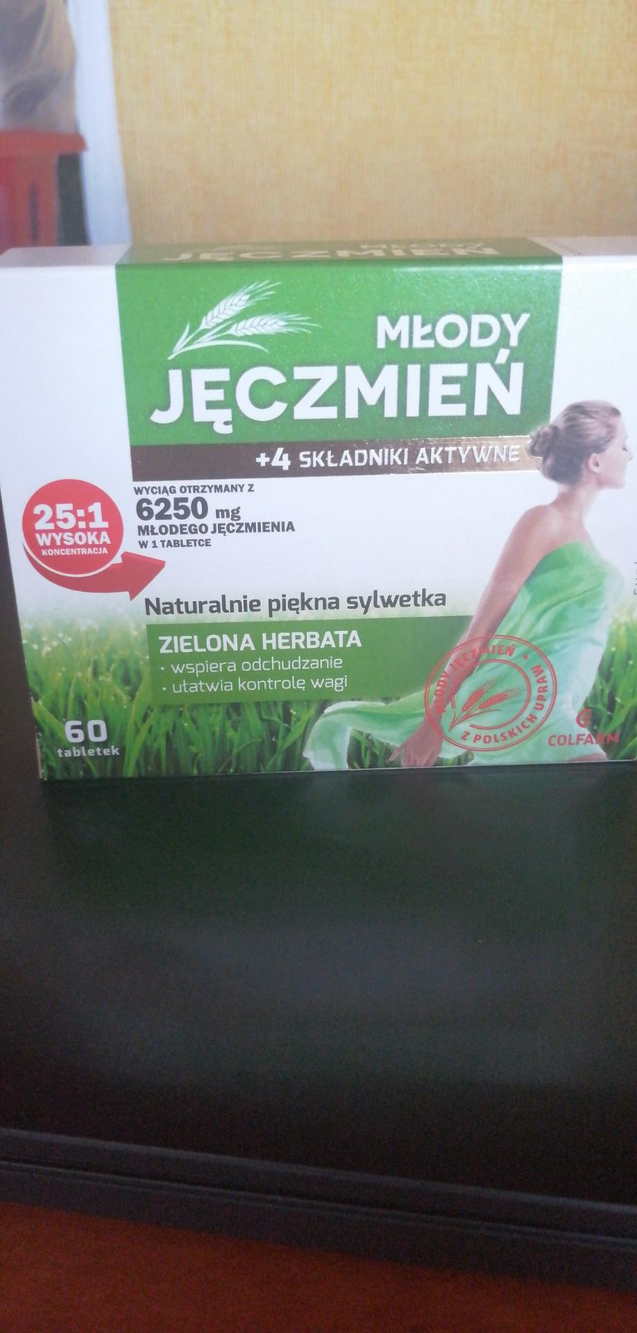laventi młody zielony jęczmień
