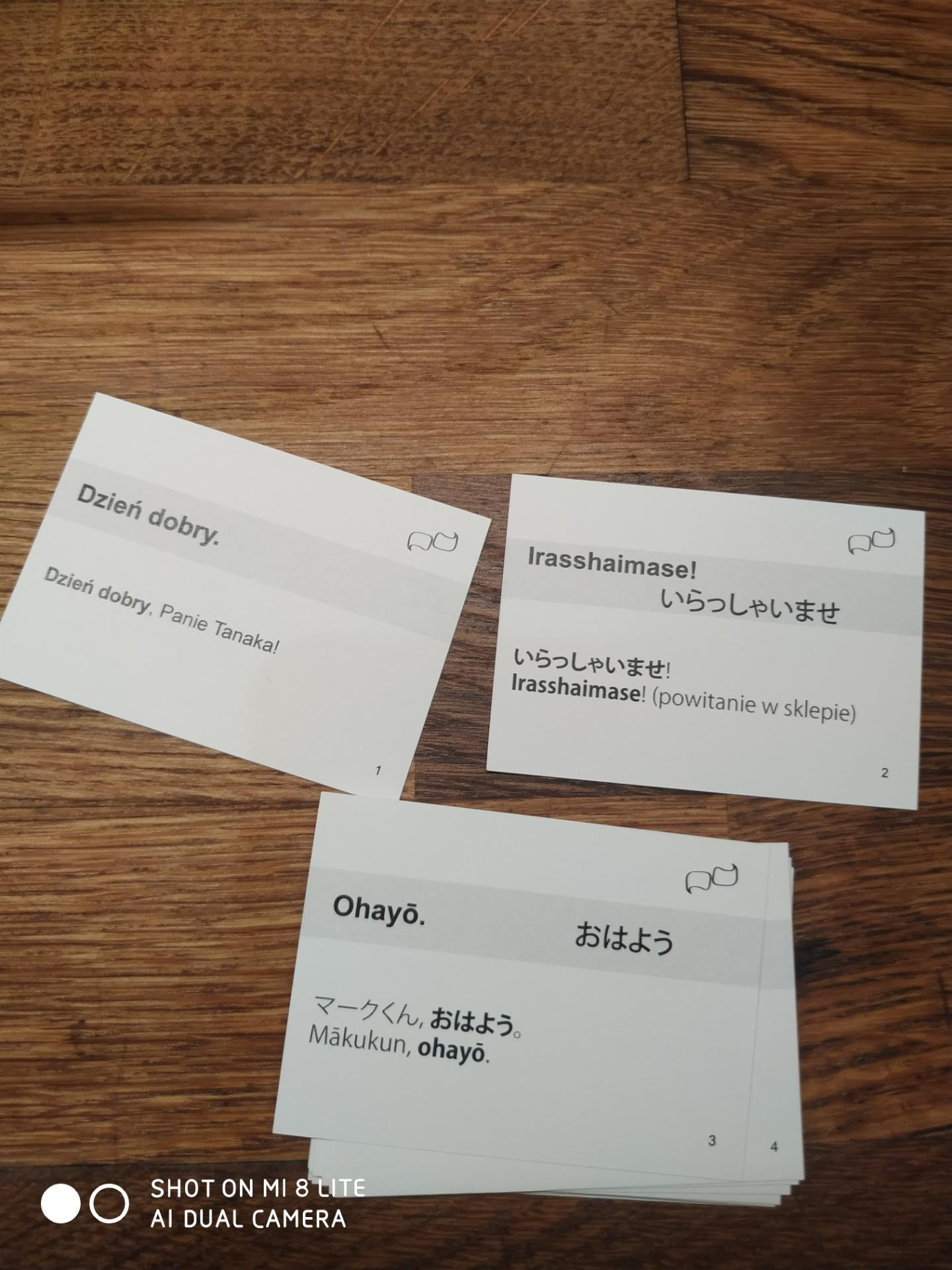 Japonski Fiszki 100 Zwroty Konwersacyjne Praca Zbiorowa Ceny I Opinie Ceneo Pl