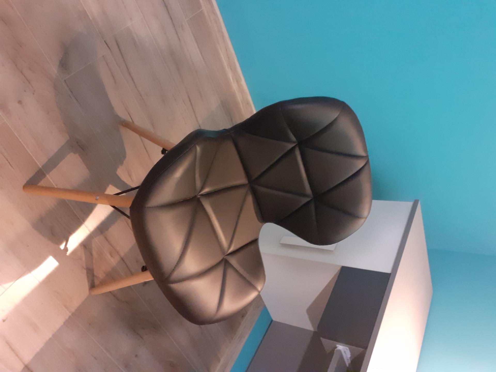 Meblemwm Krzesło Skandynawskie Art118 Czarne