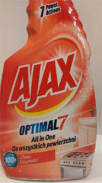 Ajax Płyn Do Czyszczenia Easy Rinse 500 Ml All In 1 Spray
