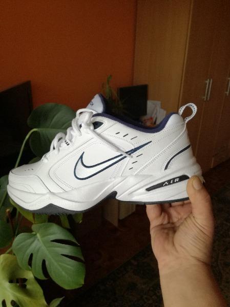 Nike Air Monarch IV Męskie Białe